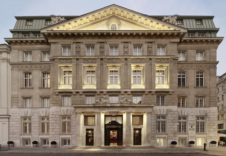 Aussenansicht Hotel Park Hyatt Vienna